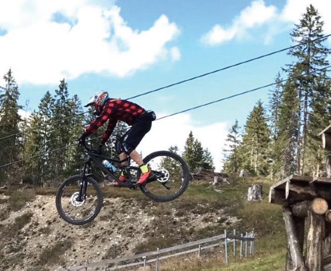 BIKE PARK LENZERHEIDE – Road Gap Session